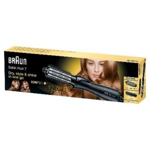 Braun Satin Hair 7 Airstyler Warmluft-Lockenbürste AS 720- mit IonTec-opt