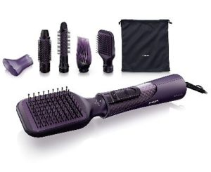 Philips Pro Care Airstyler (Ionen-Funktion- ThermoProtect) HP8656-00- 1000 Watt- violett-opt
