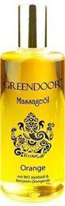 NEU Greendoor Massageöl Orange 100ml - BIO Jojobaöl & Aprikosenkernöl-opt
